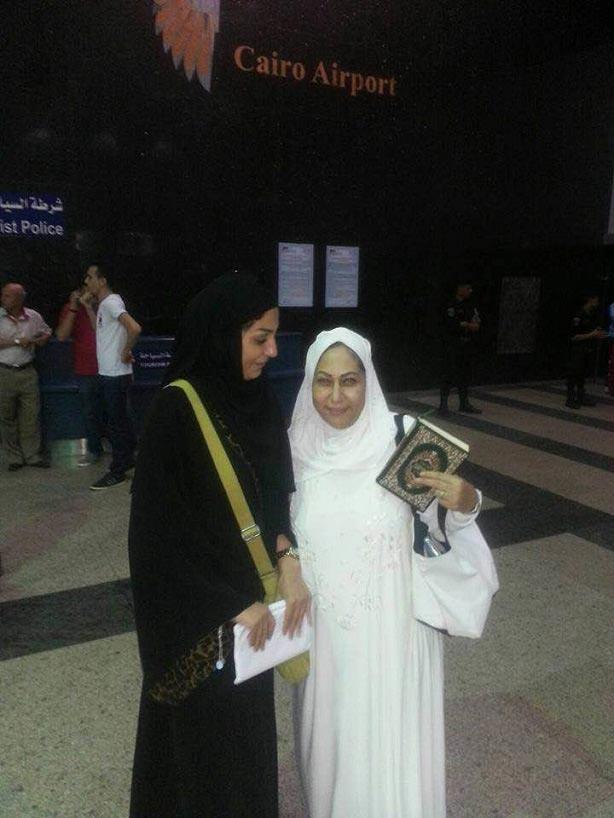 بالصور : وفاء عامر تنشر لقطات لها في الحج.. وتعلق: عند حبيبي