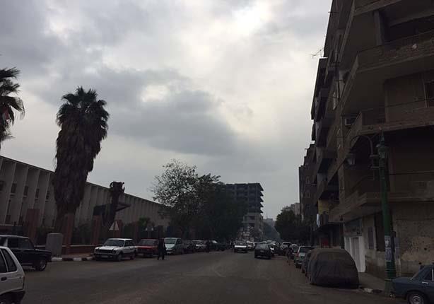 أمطار خفيفة في أسيوط (2)