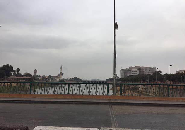 أمطار خفيفة في أسيوط (4)