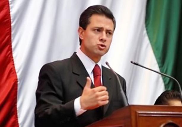 الرئيس المكسيكى انريكى بينا نييتو
