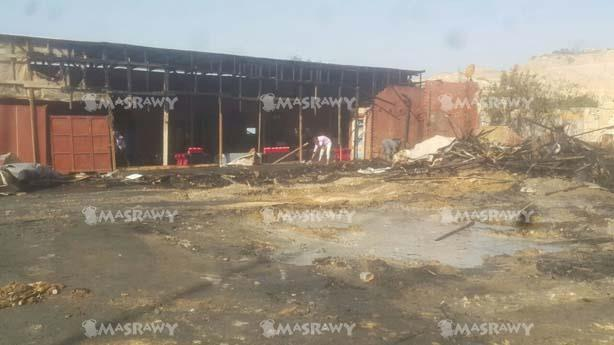 حريق سوق الجمعة (6)