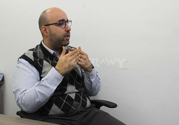 محمد زارع مدير برنامج مصر بمركز القاهرة لدراسات حقوق الإنسان (5)