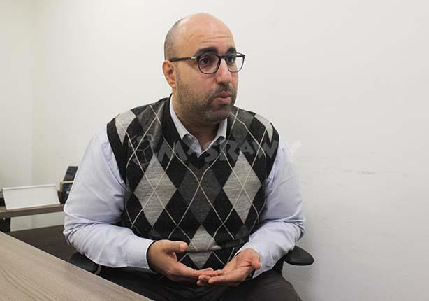 محمد زارع مدير برنامج مصر بمركز القاهرة لدراسات حقوق الإنسان (3)