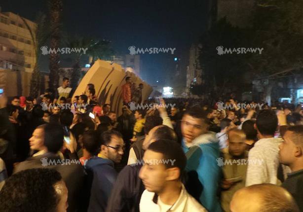 الأهالي يحاصرون مديرية أمن القاهرة
