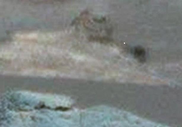 تجمع صخري على المريخ يشبه تمثال أبو الهول