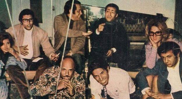 نجوم الفن يشاهدون مباراة الزمالك والإسماعيلي في منزل حسام الدين مصطفى