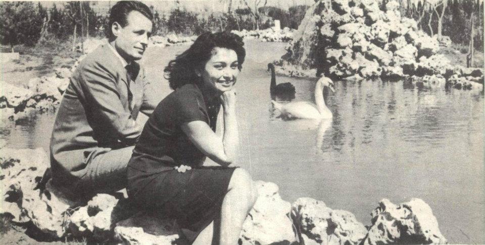 إيمان مع زوجها ماكس