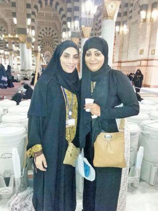 حورية فرغلي مع وفاء عامر