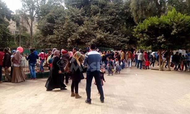 حديقة الحيوان.. في ذكرى الثورة