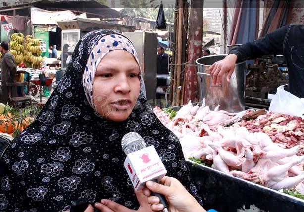 فاطمة عدلت قرارها بشراء الأجنحة لأطفالها من سوق ناهيا لارتفاع أسعار الدواجن