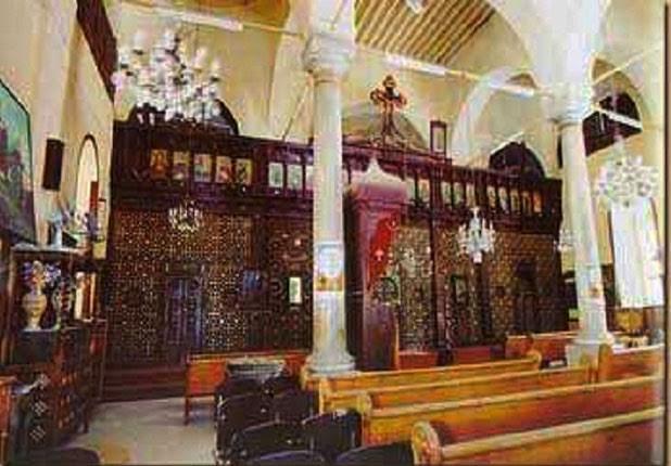 كنيسة السيدة العذراء ببلبيس