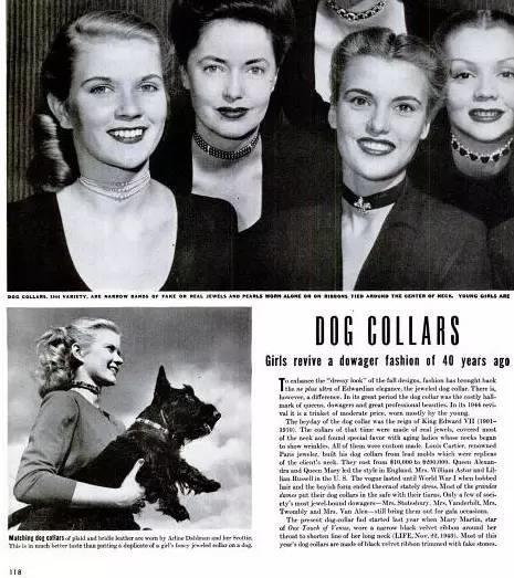 صيحة الـ Choker في عام 1944