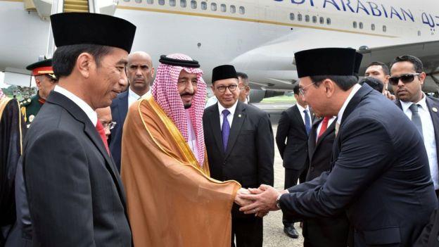 الملك سلمان بن عبدالعزيز العاهل السعودي