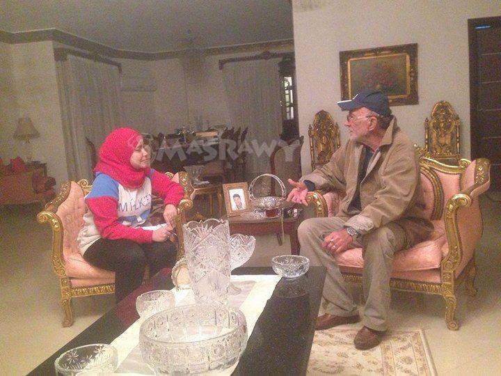 رمزي غيث ومحررة مصراوي