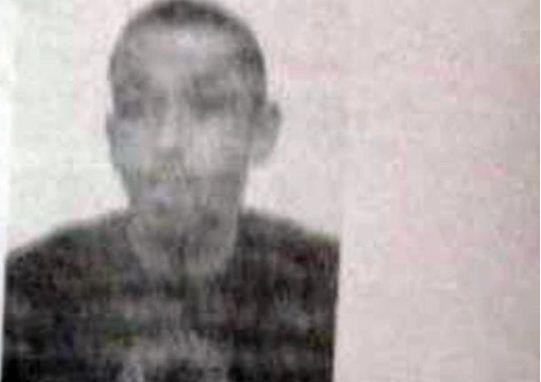 صورة لكريم شورفي من الوثيقة التي عثرت عليها الشرطة