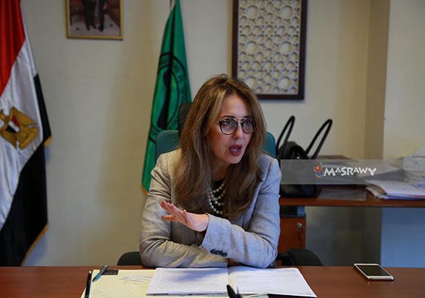 ليلى المقدم الممثل المقييم لبنك التنميه الافريقي في مصر