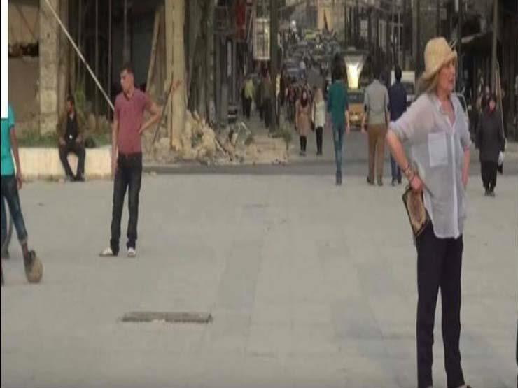 رغدة تقص شعرها في حلب