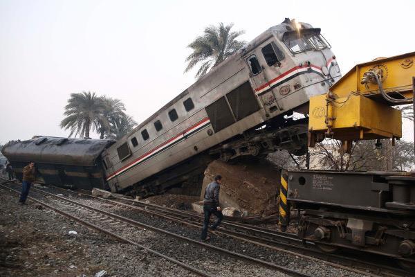 حادث قطار بني سويف