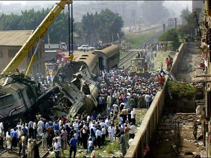 حادث قطار قليوب