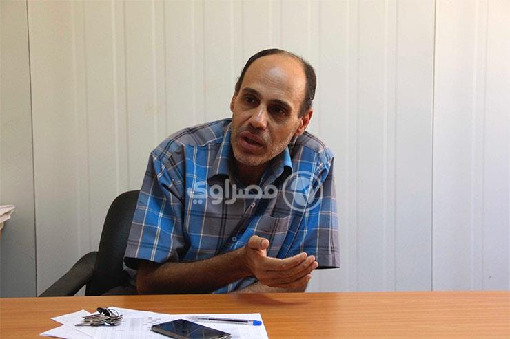 خالد رشاد مدير المشروع السكني