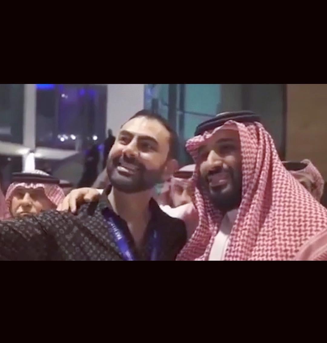 محمد كريم ومحمد بن سلمان