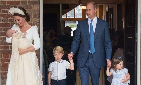 استقبال الامير ويليام لطفله الثالث