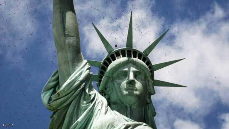 3. تمثال الحرية في مدينة نيويورك الأميركية.