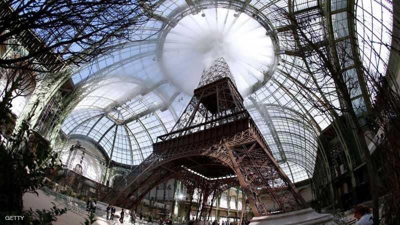 برج إيفل في باريس.
