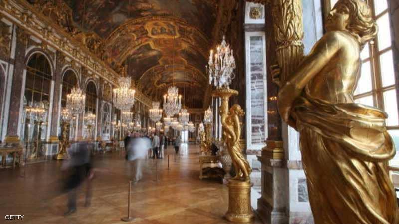 قصر فرساي في فرنسا.