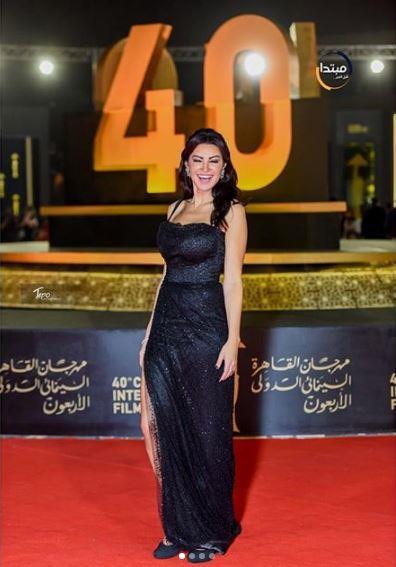 أروى جودة في افتتاح مهرجان القاهرة السنيمائي الدولي