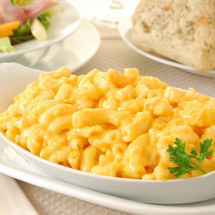 الجبن والمكرونة