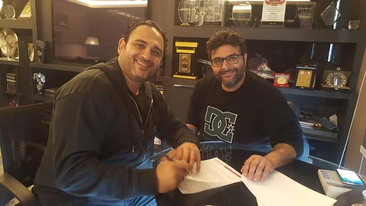 وليد منصور وأكرم حسني
