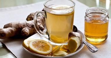 الشاي بالزنجبيل