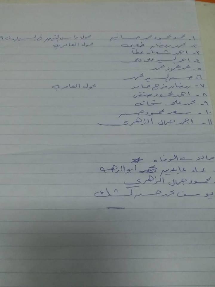 كشف بأسماء ضحايا انهيار صومعة الإسكندرية