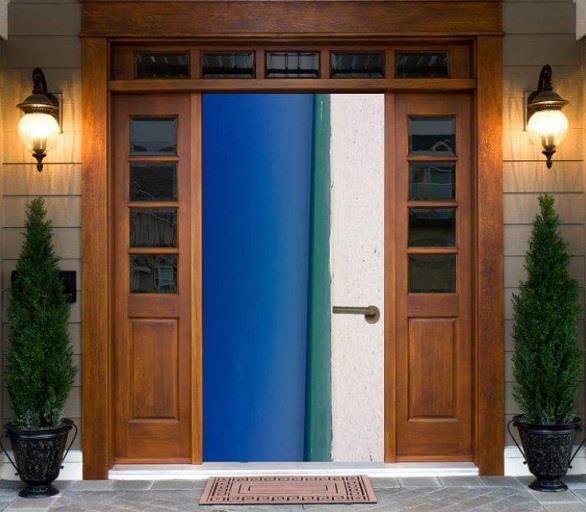 باب أم شاطئ؟.. صورة تحير رواد مواقع التواصل الاجتماعي