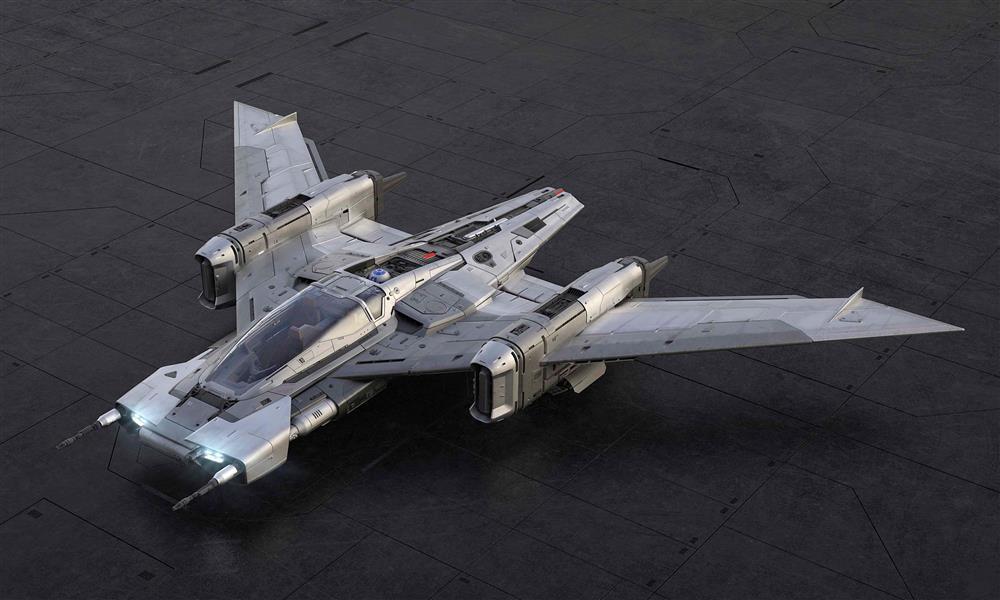 بورشه تصمم مركبة الفضاء لفيلم «حرب النجوم»