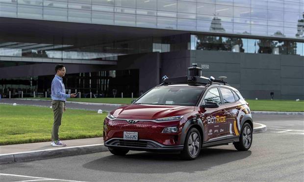 هيونداي Kona الكهربائية ذاتية القيادة