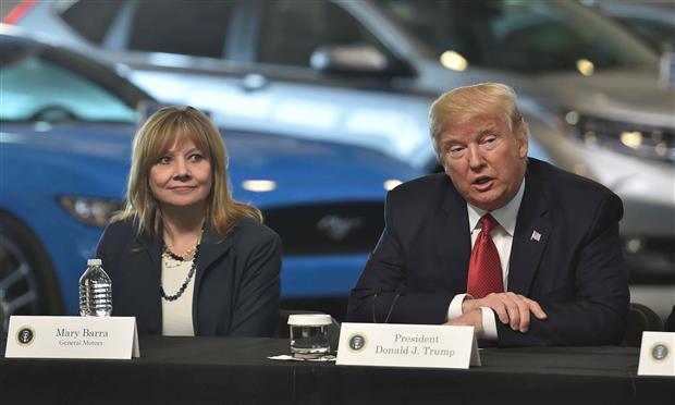 ترامب يفعل قانون الإنتاج الدفاعي ويجبر جنرال موتورز على تصنيع أجهزة التنفس