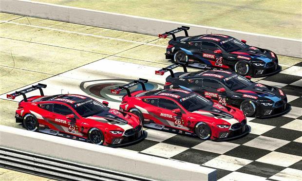أول سباق افتراضي ضمن برنامج BMW Motorsport SIM