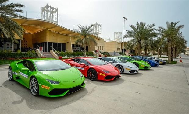 لامبورغيني تجمع كبار عملاءها في الشرق الأوسط لاستعراض أحدث سياراتها