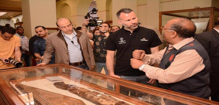 جيجز في المتحف المصري