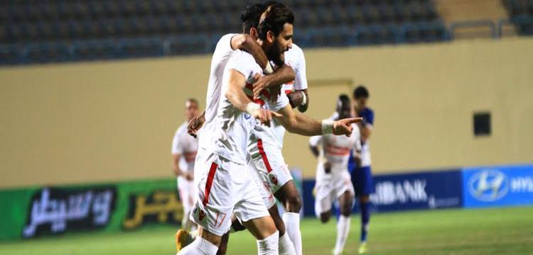 نتيجة واهداف مباراة الزمالك والشركة الوطنية 8-2 | مباراة ودية