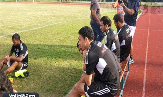 جدو يتابع مران المنتخب المصري