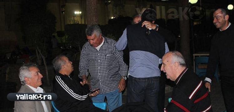 نجوم الزمالك يحتفلون بكأس مصر مع طولان