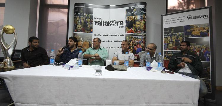 لاعبو الأهلي يتحدثون عن محمد يوسف