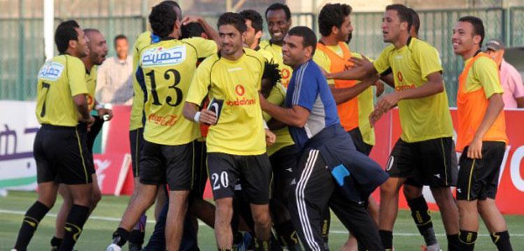 فرحة دجلة بالتأهل لنهائي كأس مصر