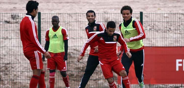 تدريبات الأهلي في المغرب استعداداً للمونديال