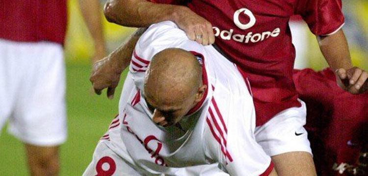 حسام حسن بقميص الزمالك