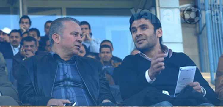 أحمد حسن مع شوقي غريب