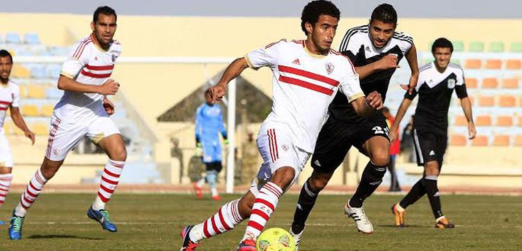 الزمالك والمصري في أول مباريات الدوري